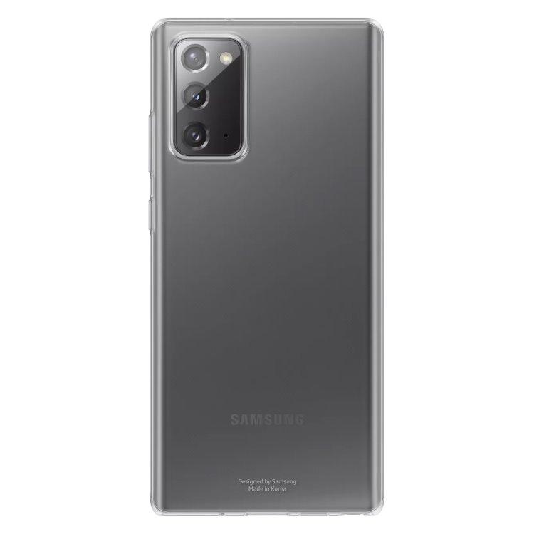 Puzdro Samsung Clear Cover pre Galaxy Note 20 - N980F, transparent (EF-QN980TTE)