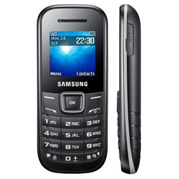 Samsung E1200, Black Red - SK distrib�cia