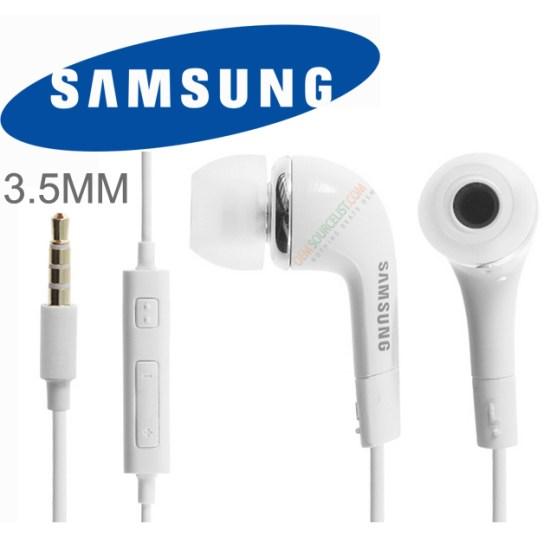 Samsung EHS64 - káblový Stereo Headset s ovládaním, White
