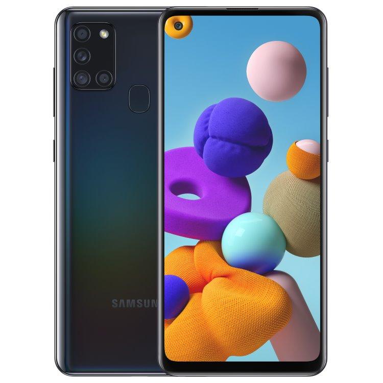 Samsung Galaxy A21s - A217F, Dual SIM, Black - SK distribúcia