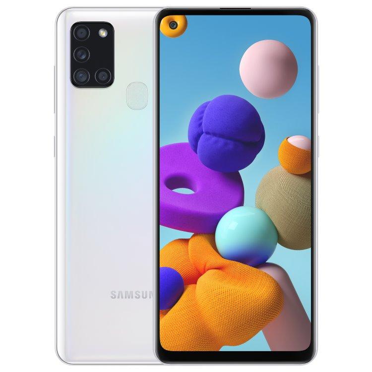 Samsung Galaxy A21s - A217F, Dual SIM, White - SK distribúcia