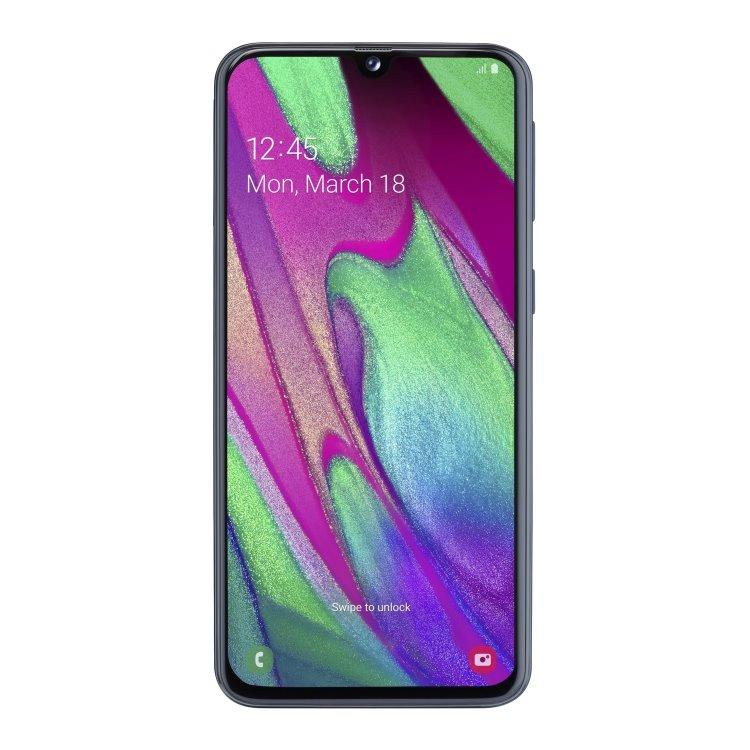 Samsung Galaxy A40 - A405F, 4/64GB, Dual SIM, Black - SK distribúcia