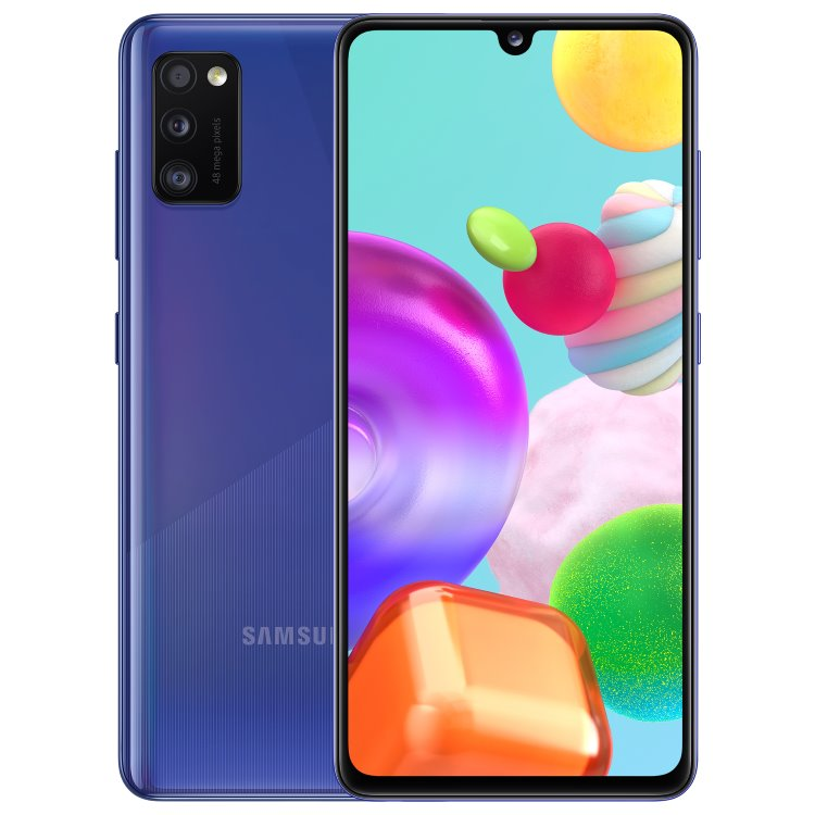 Samsung Galaxy A41 - A415F, 4/64GB, Dual SIM, Blue - SK distribúcia