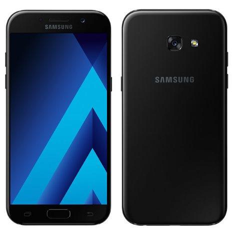 Samsung Galaxy A5 2017 - A520F, Single SIM, 32GB   Black, Trieda B - použité, záruka 12 mesiacov