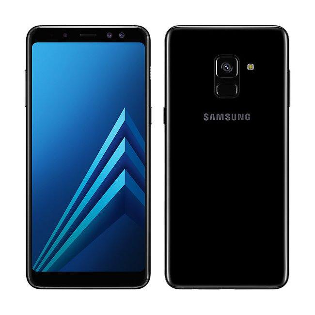Samsung Galaxy A8 2018 - A530F, Dual SIM, 32GB, Black - SK distribúcia
