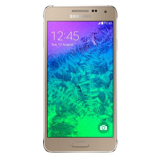 Samsung Galaxy Alpha - G850, Gold - SK distrib�cia