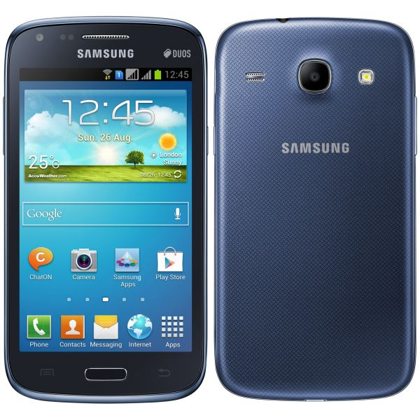 Samsung Galaxy Core Duos - i8262, Blue + Sygic GPS navig�cia na do�ivotie
