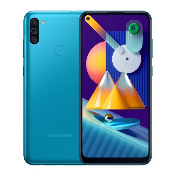 Samsung Galaxy M11 - M115F, 3/32GB, blue - SK distribúcia