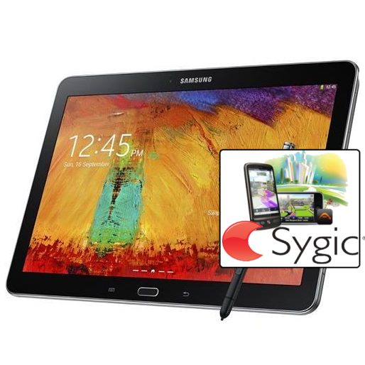Samsung Galaxy Note 10.1 - P600, 32GB, Black + Sygic GPS navig�cia na do�ivotie
