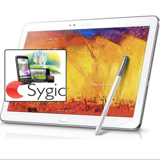 Samsung Galaxy Note 10.1 - P600, 32GB, White + Sygic GPS navig�cia na do�ivotie