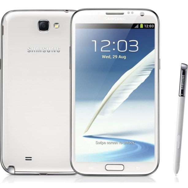 Samsung Galaxy Note 2 - N7100, 16GB, Marble White