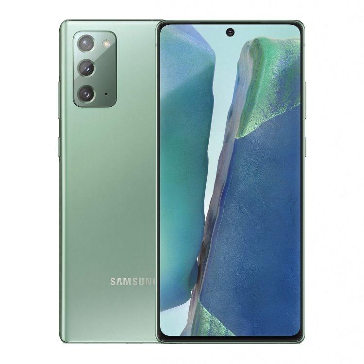 Samsung Galaxy Note 20 - N980F, Dual SIM, 8/256GB, Mystic Green - SK distribúcia