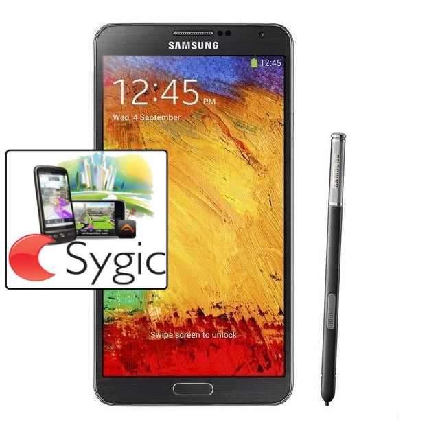 Samsung Galaxy Note 3 - N9005, 32GB, Black + Sygic GPS navig�cia na do�ivotie