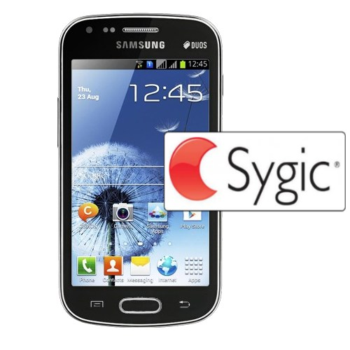 Samsung Galaxy S Duos - S7562, 4GB, Black + Sygic GPS navig�cia na do�ivotie