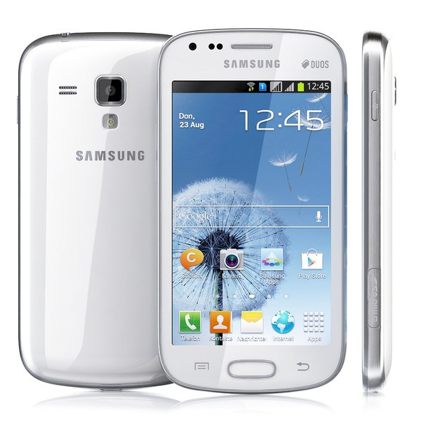 Samsung Galaxy S Duos - S7562, 4GB, White - SK distrib�cia