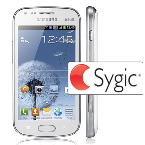 Samsung Galaxy S Duos - S7562, 4GB, White + Sygic GPS navig�cia na do�ivotie