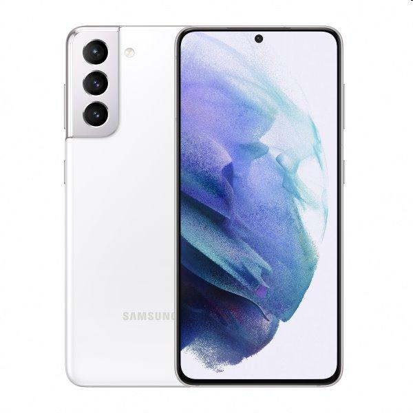 Samsung Galaxy S21 5G - G991B, Dual SIM, 8/128GB, Phantom White - SK distribúcia