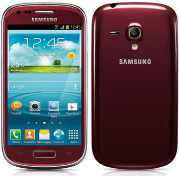 Samsung Galaxy S3 Mini - i8190, NFC, Garnet Red