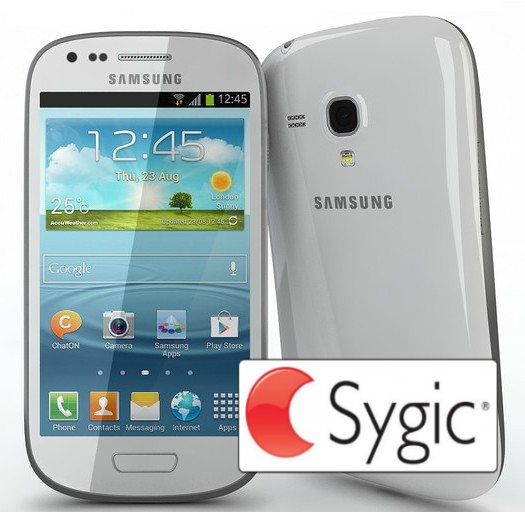 Samsung Galaxy S3 Mini - i8190, White + Sygic GPS navig�cia na do�ivotie