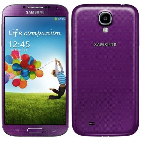 Samsung Galaxy S4 - i9505, 16GB, Purple - SK distrib�cia