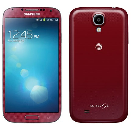 Samsung Galaxy S4 - i9505, 16GB, Red - SK distrib�cia