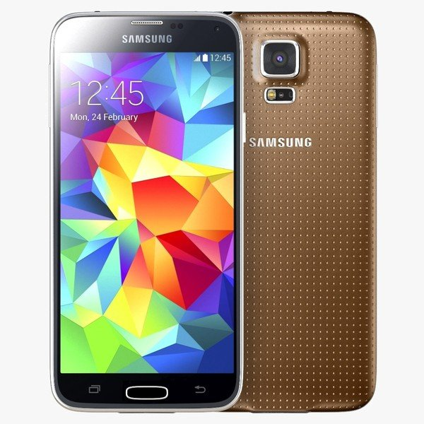 Samsung Galaxy S5 - G900, 16GB, Gold - SK distrib�cia