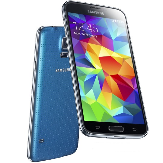 Samsung Galaxy S5 mini - G800, 16GB, Blue - SK distrib�cia