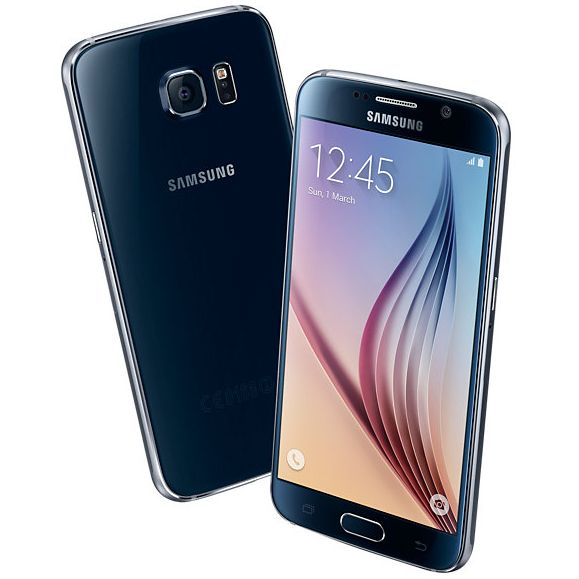 Samsung Galaxy S6 - G920F, 128GB, Black - SK distrib�cia