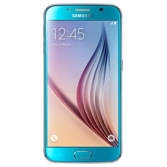 Samsung Galaxy S6 - G920F, 32GB, Blue - SK distrib�cia