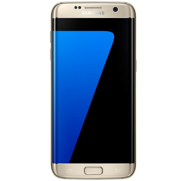 Samsung Galaxy S7 Edge - G935F, 32GB, Gold - SK distrib�cia + Exkluz�vne puzdro Uunique 50:50 Classic Quilted, Black