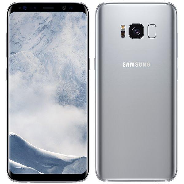 Samsung Galaxy S8 - G950F, 64GB | Arctic Silver - nový tovar, neotvorené balenie