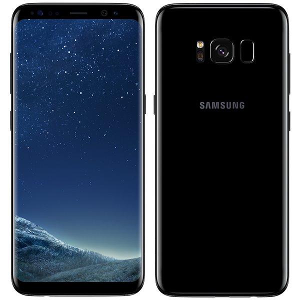 Samsung Galaxy S8 - G950F, 64GB | Midnight Black - nový tovar, neotvorené balenie
