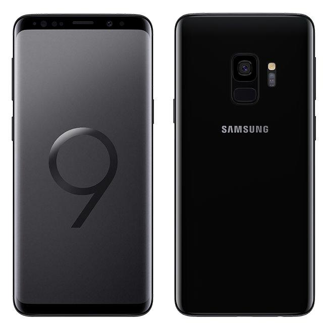 Samsung Galaxy S9 - G960F, Dual SIM, 64GB, Midnight Black - SK distribúcia