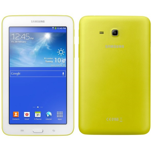 Samsung GALAXY Tab 3 7.0 Lite - T110, 8GB, Yellow