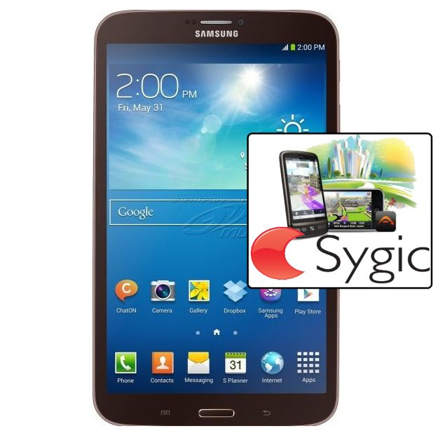Samsung GALAXY Tab 3 8.0 - T310, 16GB, Black + Sygic GPS navig�cia na do�ivotie