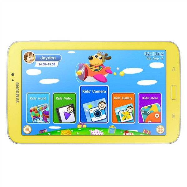 "Samsung Galaxy Tab 3 Kids - T2105, 7"", 8GB, Yellow"