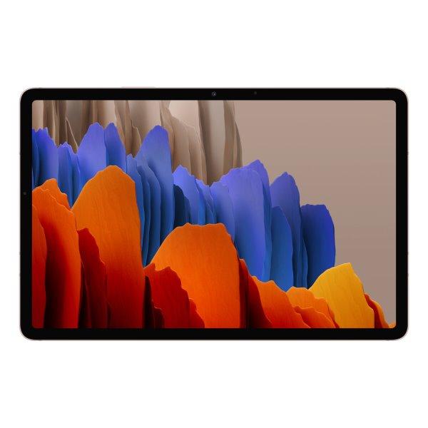 """Samsung Galaxy Tab S7+ 12.4"""" Wi-Fi - T970N, 6/128GB, bronze"""