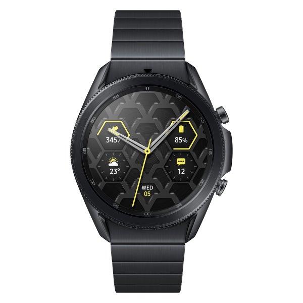 Samsung Galaxy Watch3 Titanium SM-R840, 45mm, Mystic Black - SK distribúcia