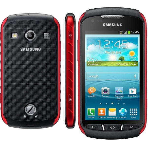 Samsung Galaxy Xcover 2 - S7710, Black/Red - SK distrib�cia