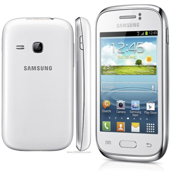 Samsung Galaxy Young - S6310, White - SK distrib�cia
