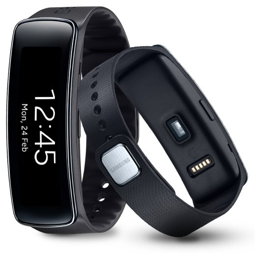 Samsung Gear Fit, multifunk�n� hodinky, Black