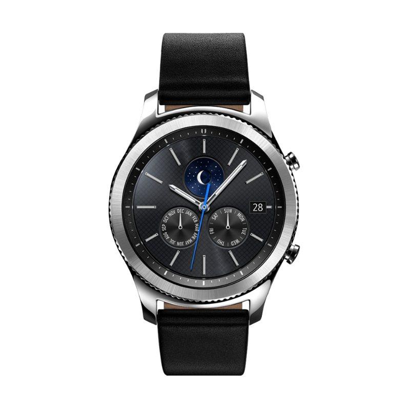 Samsung Gear S3 Classic, multifunkčné hodinky | Silver, Trieda C - použité, záruka 12 mesiacov