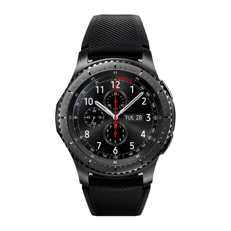 Samsung Gear S3 Frontier, multifunkčné hodinky, CarbonBlack