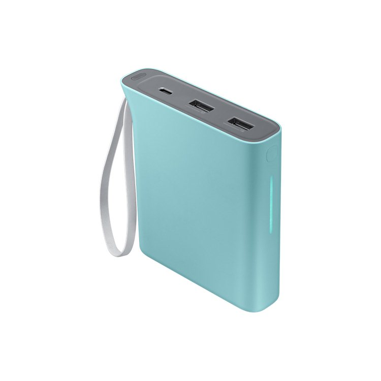 Samsung Kettle EB-PA710BL - PowerBank so stojanom 10200 mAh, Blue