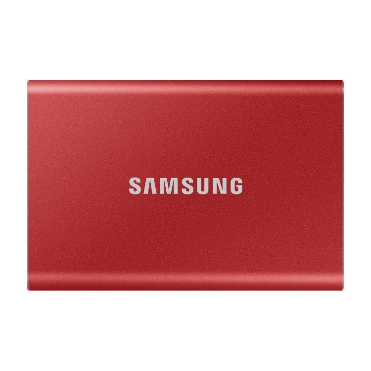 Samsung SSD T7, 2TB, USB 3.2, red