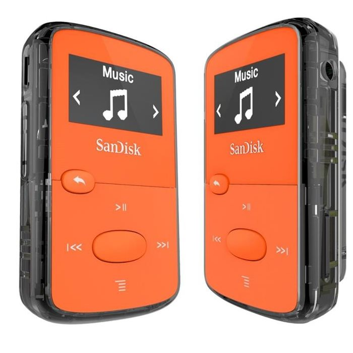 Sandisk Clip Jam 8GB + FM, Orange