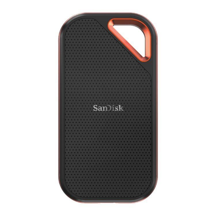 Sandisk Extreme Pro Portable SSD, 2TB, USB-C 3.1 - rýchlosť 1050 MB/s (SDSSDE80-2T00-G25)