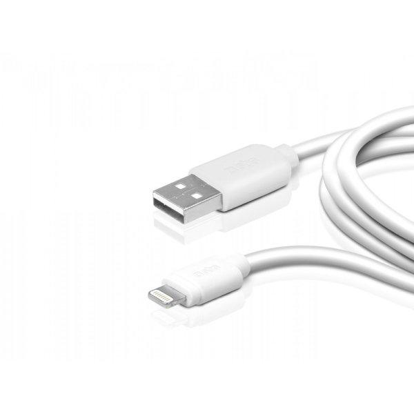 SBS dátový kábel pre iPhone s certifikáciou MFI a dĺžkou 1 meter TECABLEUSBIP5