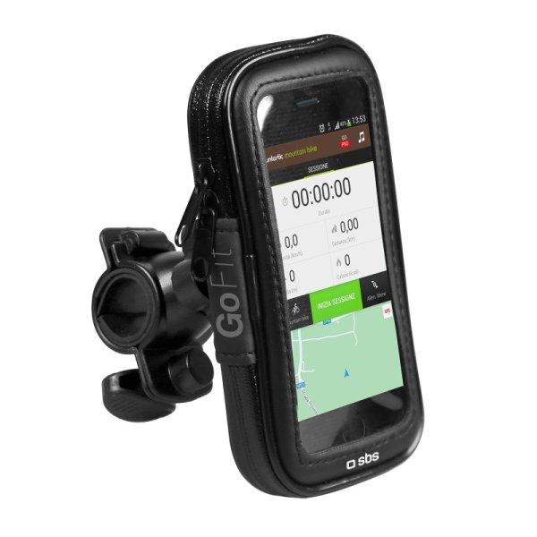 """SBS držiak na bicykel (na riadidlá) pre smartfóny s displejom do 5,5"""" TEBIKEHOLDERXLK"""