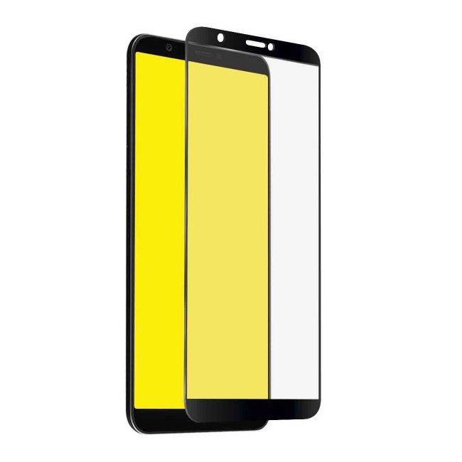 Tvrdené sklo SBS Full Cover pre Huawei P Smart/Honor Enjoy 7S, black TESCREENFCHUPSMK